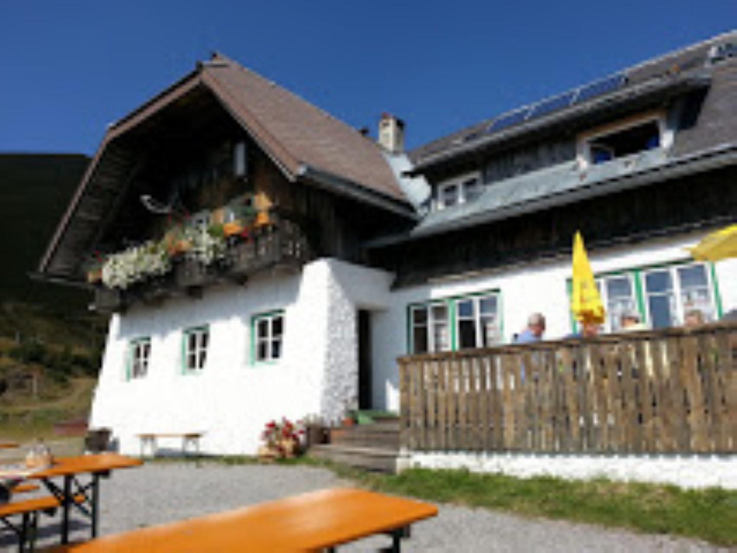 Walderhütte Terrasse